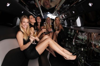 Limo Prom lincoln Black party