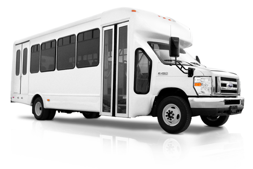 the Dallas Limo Shuttle van and  Shuttle bus