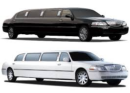 Black and White Limo Rental transportation service Dallas