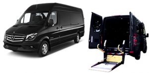 POPULAR SENIOR HANDICAP VEHICLES, ADA Vans, Bus, Charter, Shuttle, Sedans